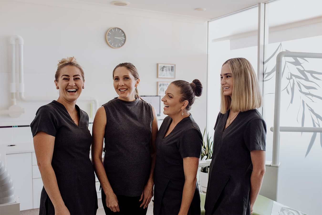 The friendly dental team at Smile by Design